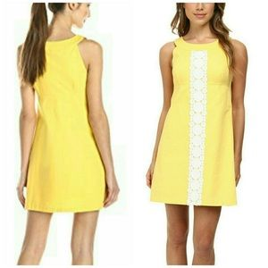 Lilly Pulitzer Yellow Dress Size 8